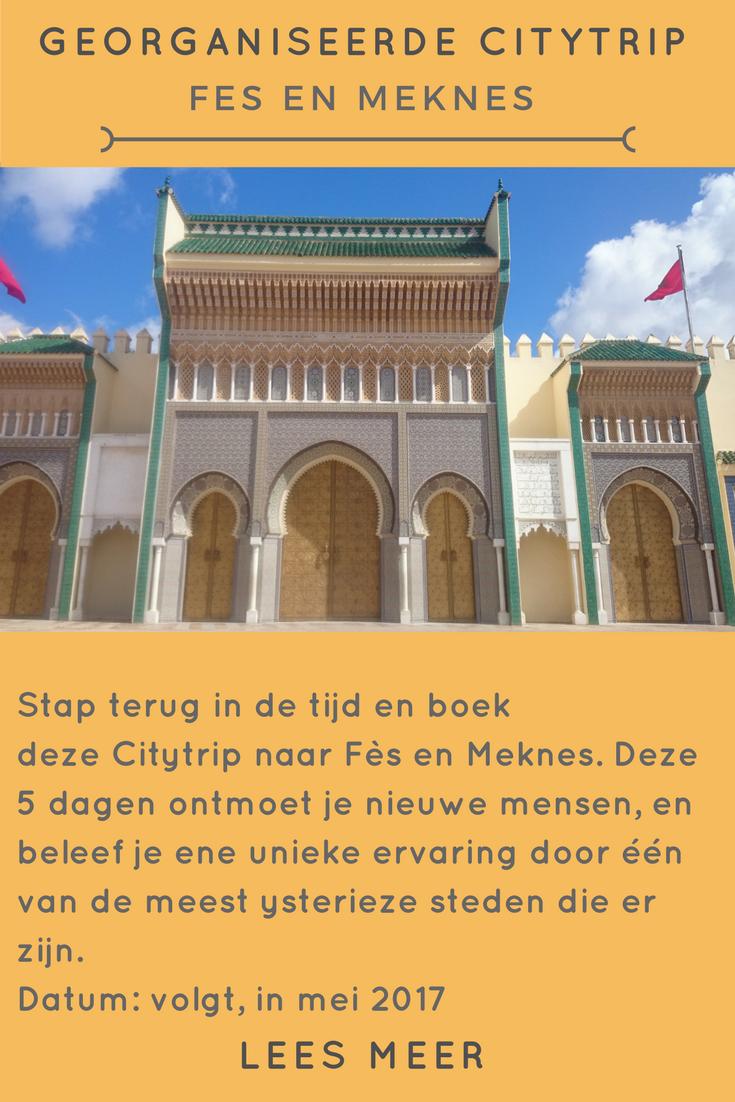 Groepsreis naar Fè en Meknes