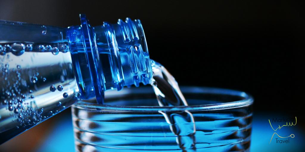 Water drinken in Marokko