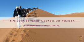 5 tips voor de verantwoordelijke reiziger