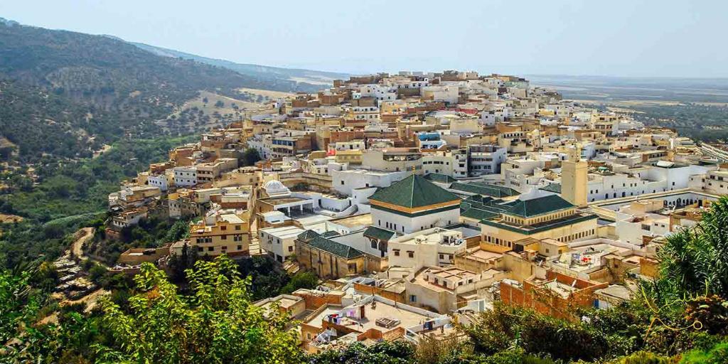 Groene daken Meknes
