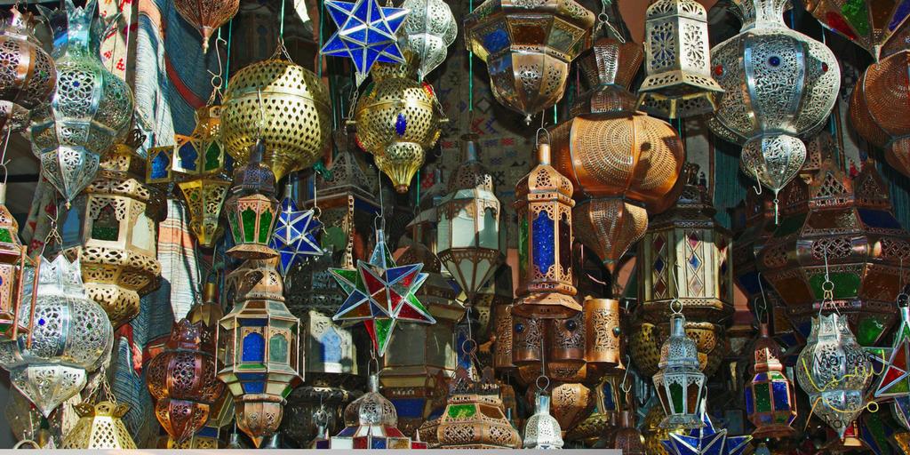 souvenirs in Marokko