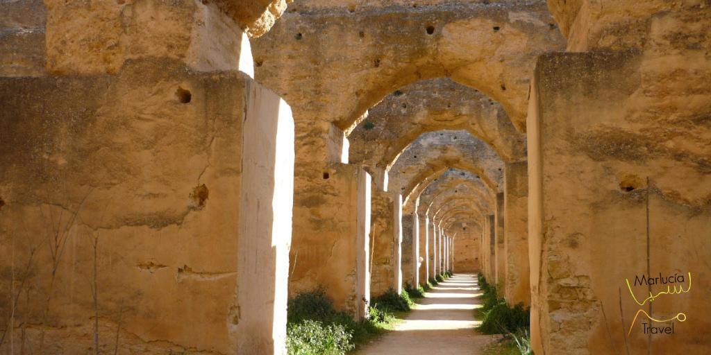 koninklijke stallen Meknes