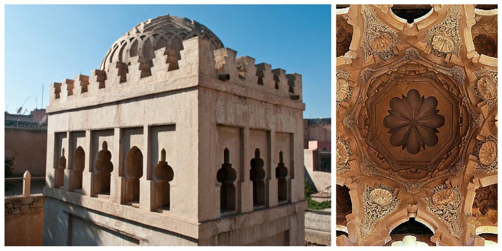 Almoravid Koubba Moskee in Marrakech