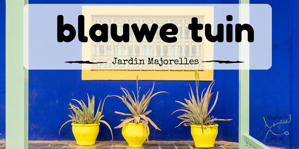 blauwe tuin Majorelles