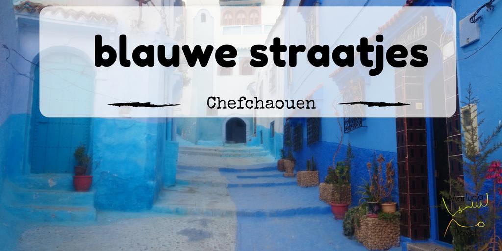 blauwe stadje Marokko chefchaouen