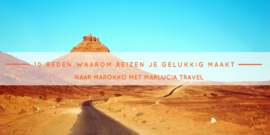 10 reden waarom reizen je gelukkig maakt