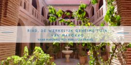 Riad, de werkelije gehume tuinen van Marokko
