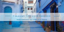 7 blauwe tips voor Marokko