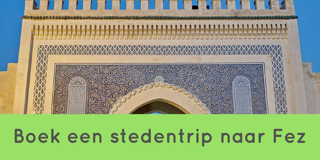 Boek een reis naar Fez