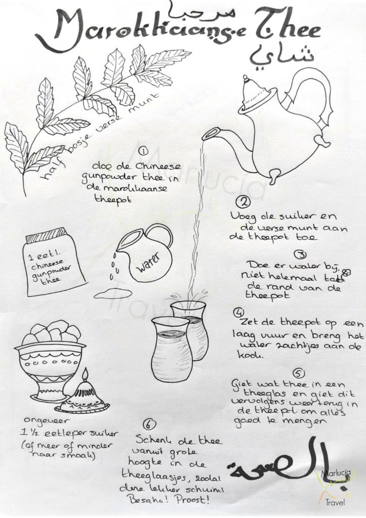 Hoe maak je Marokkaanse thee