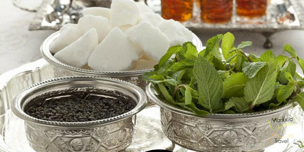 Ingrediënten Marokkaanse thee