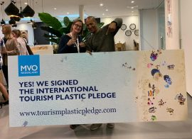 Marlucia Travel ondertekent Tourism Plastic Pledge