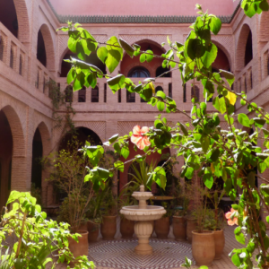 Patio van Riad