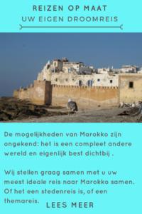 Reizen op maat naar Marokko