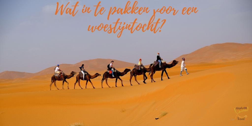 Wat in te pakken voor een woestijntocht