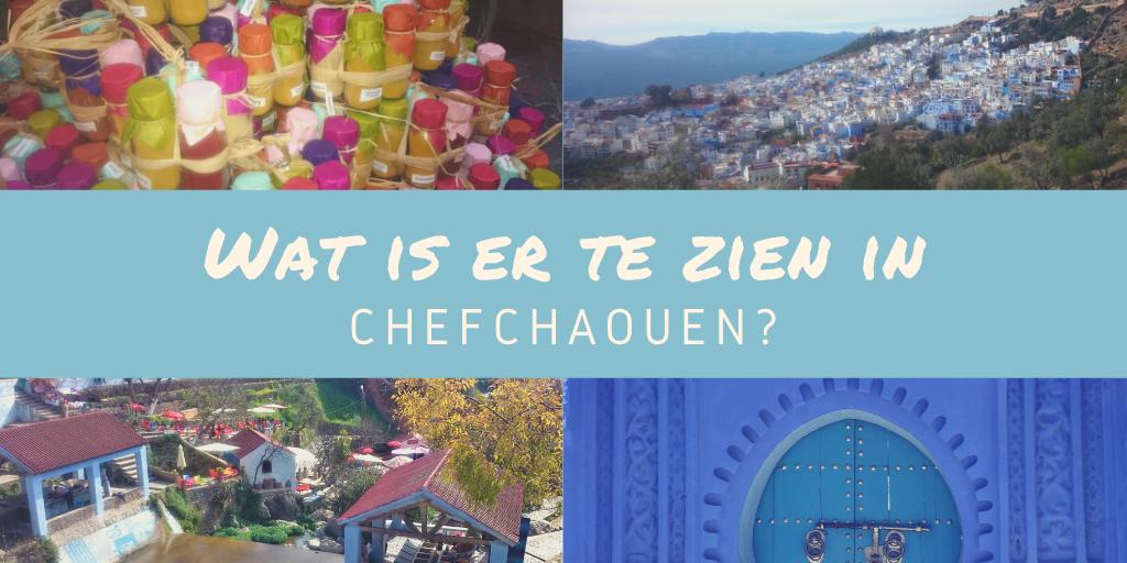 Wat is er te zien in Chefchaouen