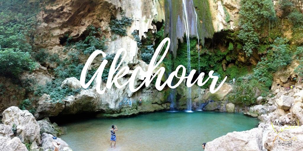 Watervallen Marokko Akchour