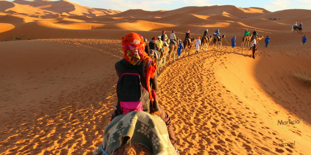 Woestijntocht door Sahara