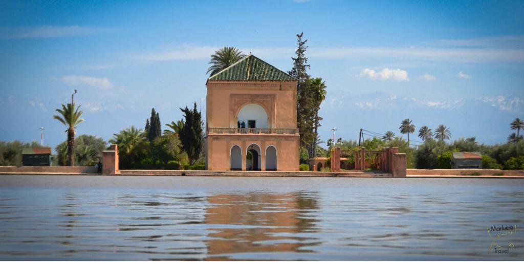 Paviljoen in Jardin Menara