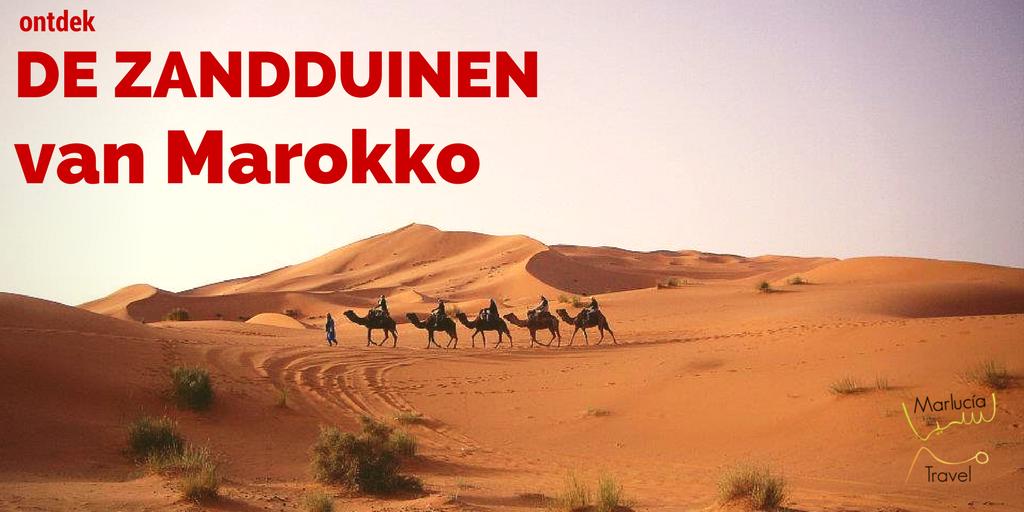 ontdek de zandduinen van Marokko